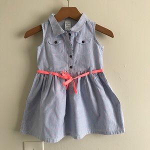 Carter's Cotton striped dress for girls